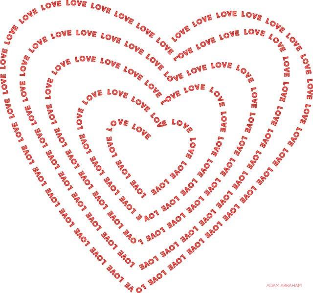 Love as Spiraling Infinte Power