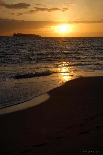 Molokini atoll off the south coast of Maui, Hawaii