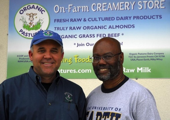 Adam Abraham visits Mark MacAfee of Organic Pastures