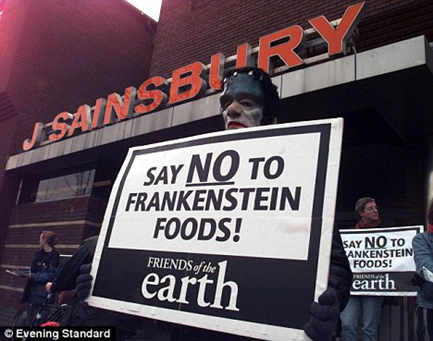 A transgenic food protester.