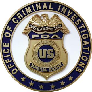 FDA Police Badge