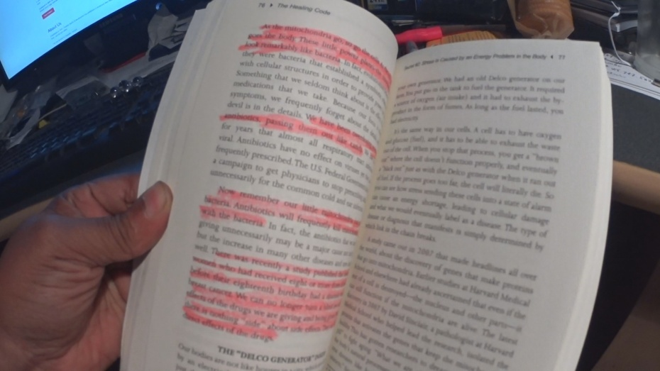 My copy of The Healing Code is well highlighted.